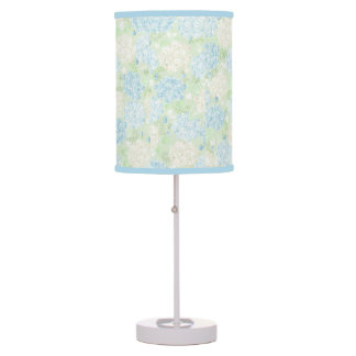 Hydrangea Dreams Desk Lamps