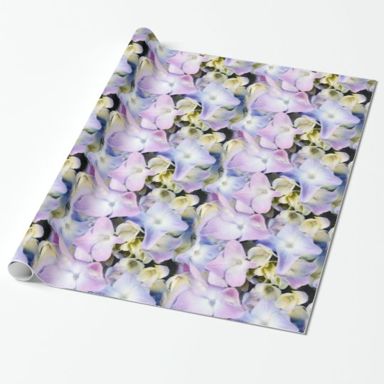 Hydrangea Floral Gift Wrap