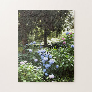 Hydrangea Floral Trees Nature Photography Jigsaw Puzzle