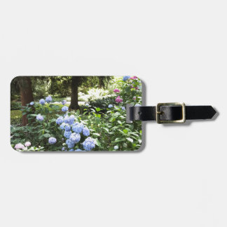 Hydrangea Floral Trees Nature Photography Luggage Tag