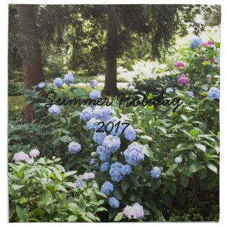 Hydrangea Floral Trees Nature Photography Napkin