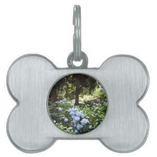 Hydrangea Floral Trees Nature Photography Pet ID Tag