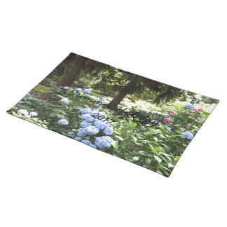 Hydrangea Floral Trees Nature Photography Placemat
