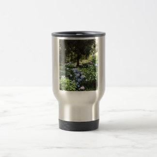Hydrangea Floral Trees Nature Photography Travel Mug
