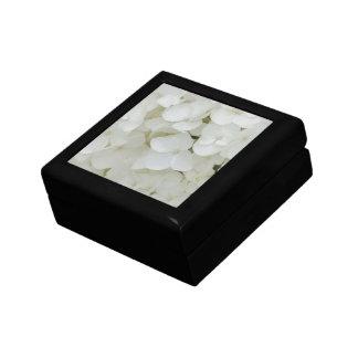 Hydrangea Flowers Floral White Elegant Blossom Gift Box