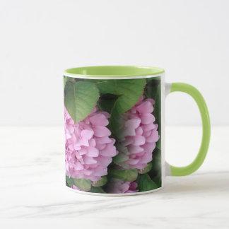Hydrangea from Balboa Island in purple and green! Mug