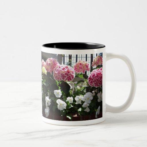 Hydrangea Garden Mug