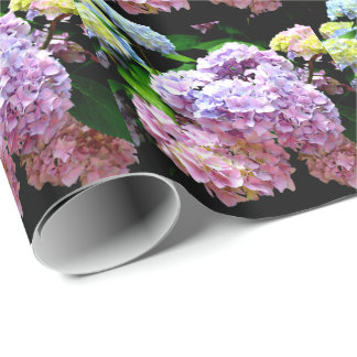 Hydrangea Garden Wrapping Paper