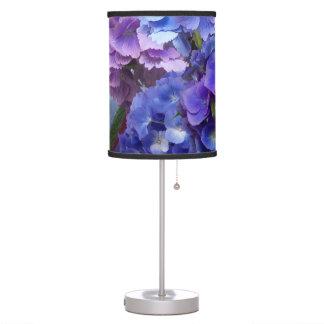 Hydrangea In Hydrangea Vase Lamp