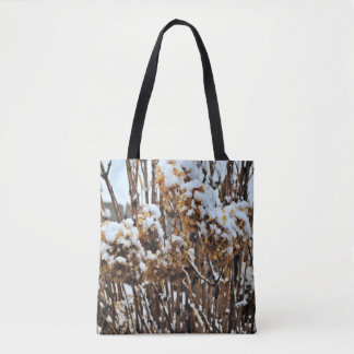 Hydrangea in Winter - Photography Tote Bag