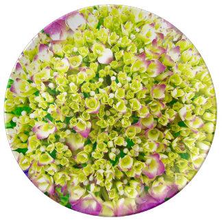 Hydrangea Love Plate