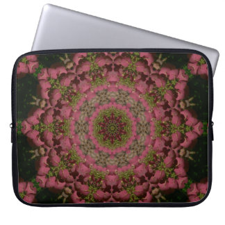 Hydrangea Mandala Mauve Laptop Sleeve