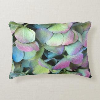 HYDRANGEA  Multi-color petals --- Accent Pillow