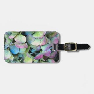 HYDRANGEA  Multi-color petals --- Luggage Tag