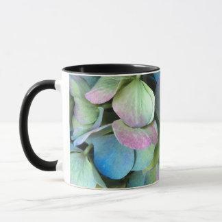 HYDRANGEA  Multi-color petals --- Mug