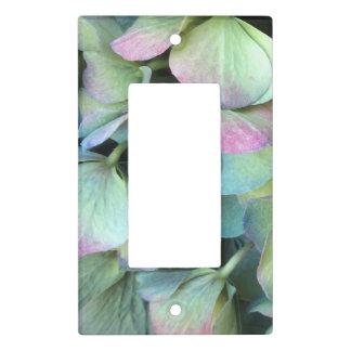 HYDRANGEA  Multi-colour petals --- Light Switch Cover