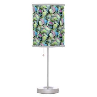 HYDRANGEA  Multi-colour petals --- Table Lamp