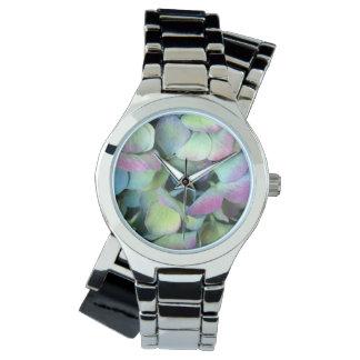 HYDRANGEA  Multi-colour petals --- Wristwatch
