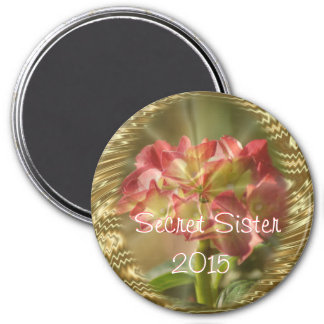 Hydrangea Secret Sister Magnet- or any occasion Magnet