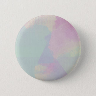 Hydrangea Series Watercolor Abstract Opal 2 Inch Round Button