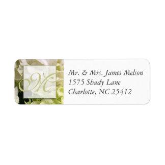 Hydrangea White Green Wedding Suite