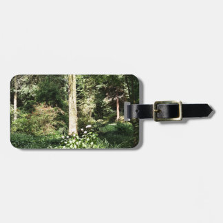 Hydrangea Wood Trees Nature Photography Luggage Tag