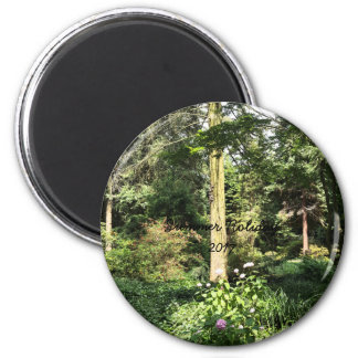 Hydrangea Wood Trees Nature Photography Magnet