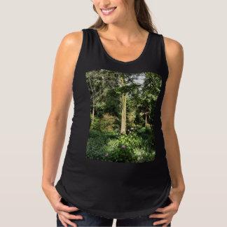 Hydrangea Wood Trees Nature Photography Maternity Tank Top