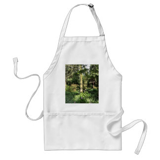 Hydrangea Wood Trees Nature Photography Standard Apron