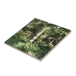 Hydrangea Wood Trees Nature Photography Tile