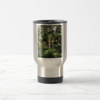Hydrangea Wood Trees Nature Photography Travel Mug