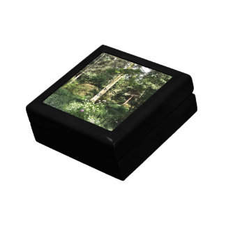 Hydrangea Wood Trees Nature Photography Trinket Box