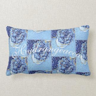 Hydrangeaceae Lumbar Pillow