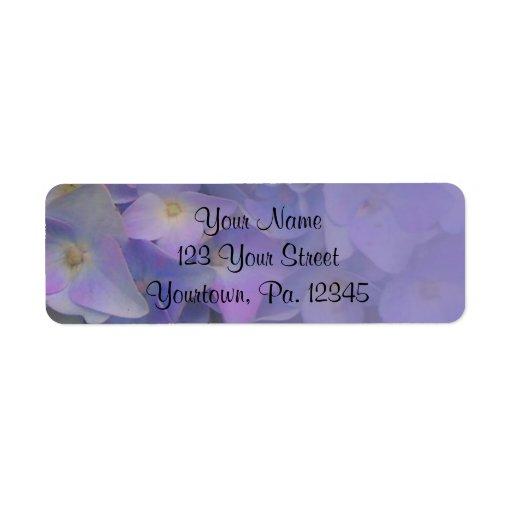 Hydrangeas Address Label