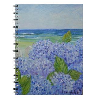 Hydrangeas By the Sea Notebook