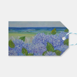 Hydrangeas By The Sea Pack Of Gift Tags