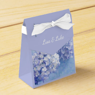 Hydrangeas Gift Box-With Custom Names Favor Box