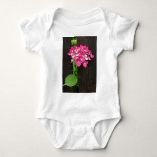 hydrangeas in bloom baby bodysuit