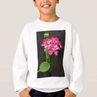 hydrangeas in bloom sweatshirt