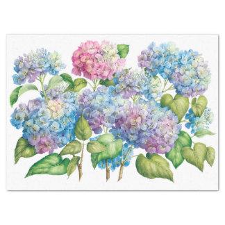 Hydrangeas in Bloom Tissue Paper