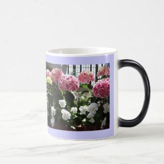 Hydrangeas Morphing Mug