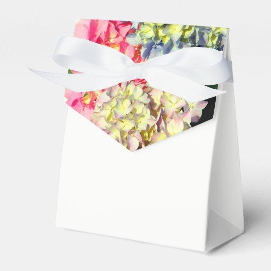 Hydrangeas Party Favor Boxes