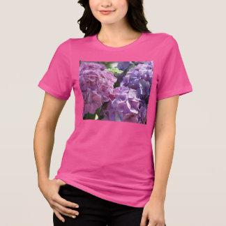 Hydrangeas pink t-shirts