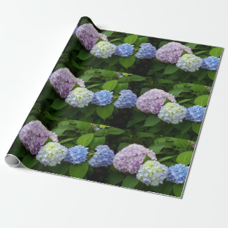 Hydrangeas Wrapping Paper