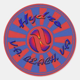 Hydro Skateboarding Round Sticker