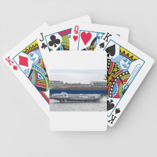 Hydrofoil St Petersburg Russia Bicycle Playing Cards