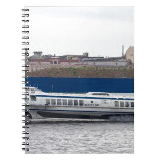Hydrofoil St Petersburg Russia Notebooks