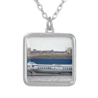 Hydrofoil St Petersburg Russia Silver Plated Necklace