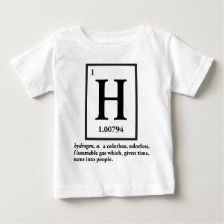 hydrogène - un gaz qui se transforme en personnes t-shirt pour bébé
