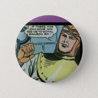 Hydroman 2 Inch Round Button